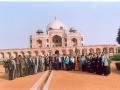 Delegates/Observers at Humayun's Tomb
