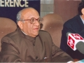 "Shri G.C. Malhotra, Secretary-General, Lok Sabha, delivering the Key-note address on the theme ""Changing Dimensions of Parliament Library and Information Services in the Third Millennium"" on 19 January 2005"
