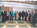 The Hon'ble Speaker Shri Somnath Chatterjee with the Delegates/Observers who called on him on 18 January 2005