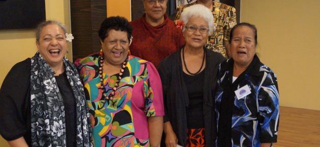 Hon Niki Rattle (Speaker, Cook Islands), Hon Vaaiga Paotama Tukuitonga (Niue), Hon Fiame Naomi Matafa (Samoa), Hon Gatoloaifa'ana Amataga Alesana Gidlow (Samoa), Hon Maere Tekanene (Kiribati) Hon Rereao Tetaake Eria (Kiribati)